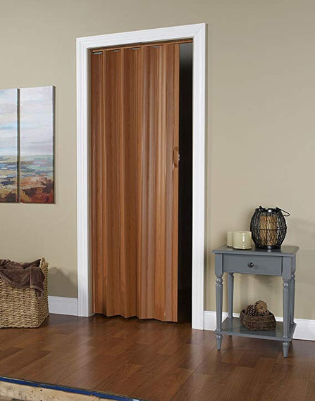 Pvc Accordion Folding Door, 36 x 80 Inches