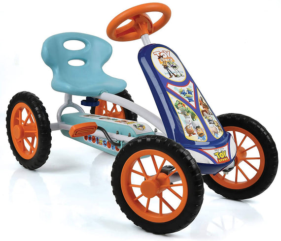 Disney Turbo Go Cart Toy Story/Princess the Disney Princess Go Kart is suitable for toddlers aged 2 and over,little kids will enjoy its small size and ease of use-856601