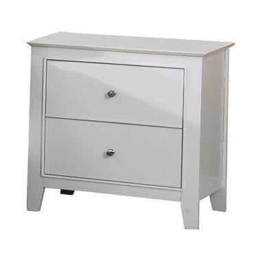 Selena 2-Drawer Nightstand White - 400232