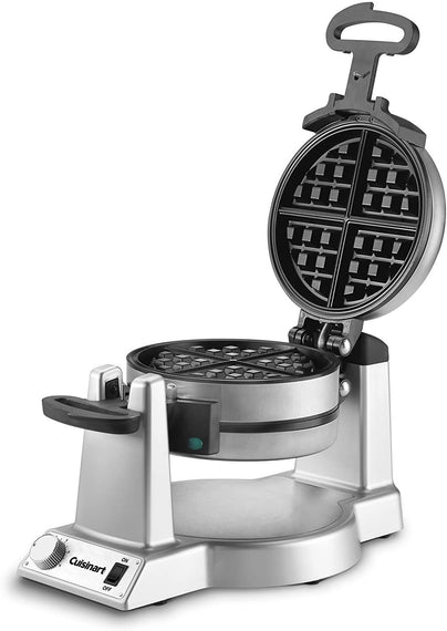 Cuisinart Round Belgian Waffle Maker makes thick, delicious Belgian waffles that are crispy on the outside and light and fluffy on the inside. With this waffle maker, it's easy to create the gourmet breakfasts and desserts you love - CU-WAF-F10
