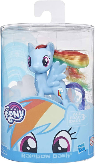 My Little Pony Mane Pony Rainbow Dash Classic Figure - 630509756599