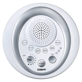 Conair Serene Sounds with Timer provides six soothing sounds which creates a tranquil mood so you can relax, rest, and renew - C-SU9