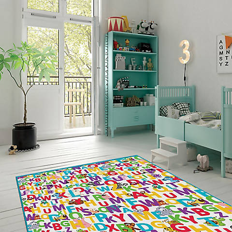 Funtime Gelli Mat Play Mat for Baby and Toddler he Funtime Gelli Mat Play Mat for Baby and Toddler offers superior protection and durability for your child and flooring during playtime - Alphabet -735184