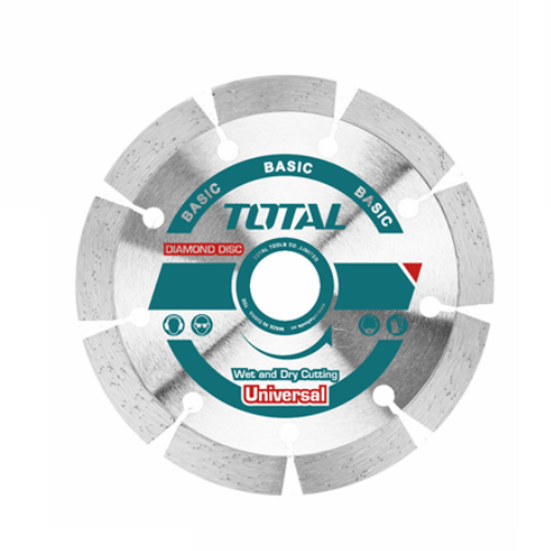 "TOTAL DRY DIAMOND, WET AND DRY CUTTING DISC  4 1/2"" X 7/8"" (115 X 22MM) TAC2111153"