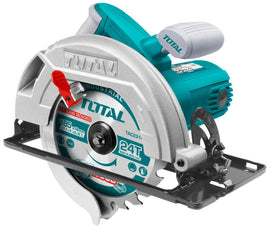 "Total 110 Volt 1400 Watts 7 1/4"" Circular Saw - Cut Lumber and Sheet Goods for a Room Addition, Deck and More - TS1141856"