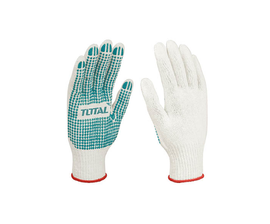 Total Knitted & PVC Dotted Gloves - TSP11102