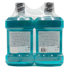 Product of Listerine Cool Mint Antiseptic Mouthwash, 2 pk./1.5L - Oral Rinse & Mouthwash2 Units / 1.5 L / 547427