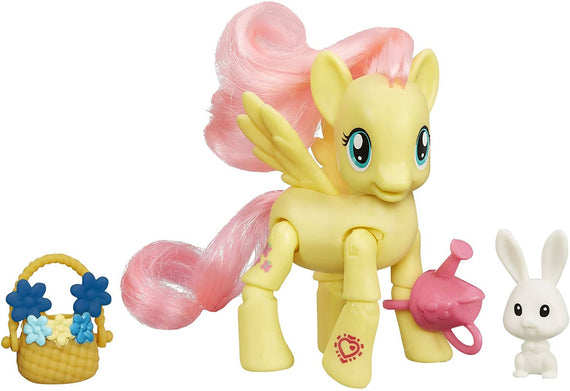 My Little Pony Friendship is Magic Flower Picking Pose-able Flutter-shy - PN7566180100