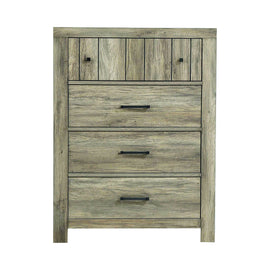 Adelaide 4-Drawer Chest Rustic Oak - 223105