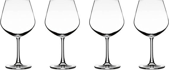 Cuisinart Elite Vivere Collection Burgundy Glasses (Set of 4) - CU-CGE-01-S4BU