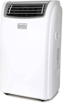 Black + Decker BPACT12HWT Portable Air Conditioner, 12,000 BTU with Heat (White) It cools, dehumidifies, circulates air in the summer, and provides heat during those cold winter months - 393694