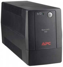 APC 600VA Back-UPS backs up and protects your hardware and data during power outages, surges and spikes - BX600L-LM