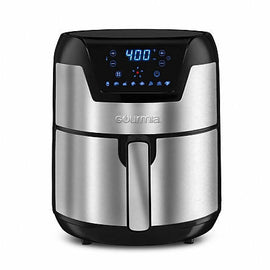 Gourmia Digital Air Fryer 5 Qt - Using FryForce 360° Technology, this air fryer circulates hot air in all directions and completely eliminates the need for oil - 326356