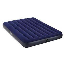 Intex Full Dura Beam Standard Fibre-Tech Technology Airbed is Versatile and perfect for both in-home and camping.- 64758