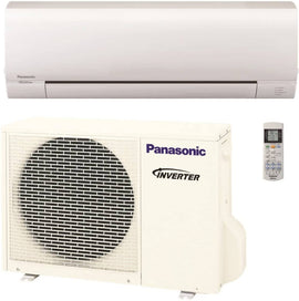 Panasonic Air Conditioner 12k BTU 60hz Take control of the temperature in your home with the Panasonic 12,000 BTU ductless mini split air conditioning and heating system - 397594