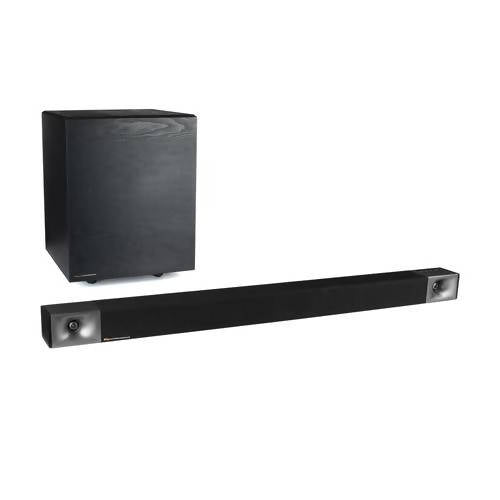 Klipsch Cinema 600 Sound Bar 3.1 Home Theater System with HDMI-ARC for Easy Set-Up, Black / 410424