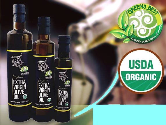 Greens Best Extra Virgin Olive Oil 500ml - 04023243146