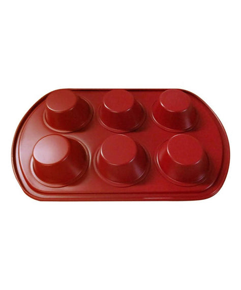 Diamond Home Six-Cup Muffin Pan - DH - 20121