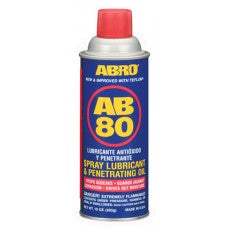 ABRO AB-80 Spray Lubricant 10 oz (MAC00159)