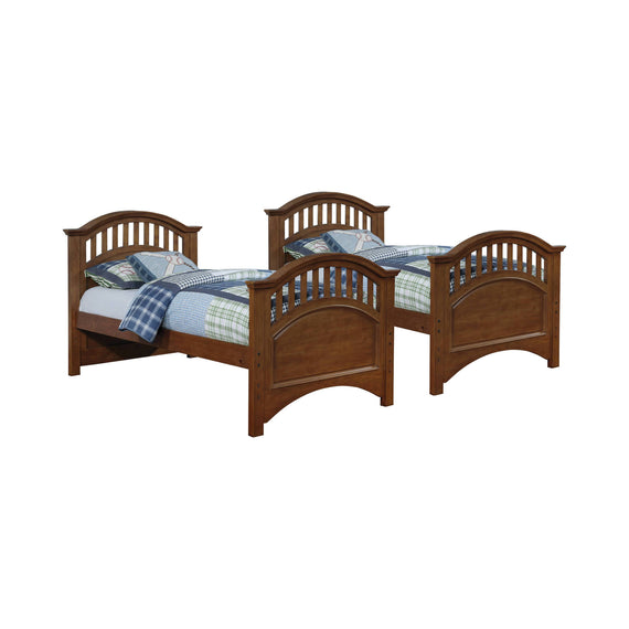 Halsted Twin Over Full Bunk Bed Walnut - 461080