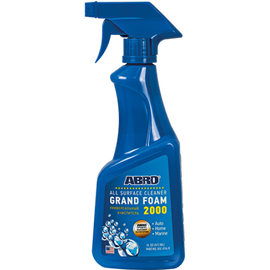 Foam 2000 Universal Surface Cleaner Works well on Fabric, Carpet, Plastic, Ceramic, Rubber, Metal Products, etc. 473ml MABRO090