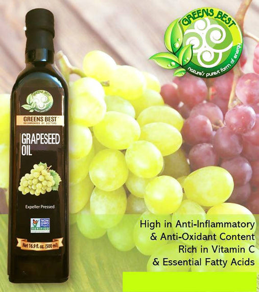 Greens Best Grapeseed Oil 1lt - 04023226898