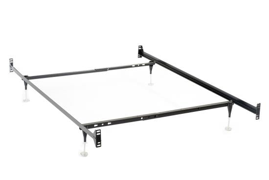 Twin/Full Bed Frame Black - 9602TF