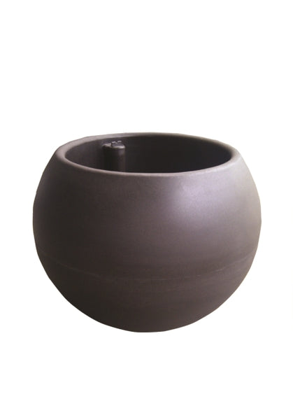 "Bola Series Self Watering Planter - This Elegant Self Watering Planter Provides A Realistic Concrete Look For Your Home & Garden - 18"" / 22"" / 24"" / 30"" / 36"" BSSWP18 / BSSWP22 / BSSWP24 / BSSWP30 / BSSWP36"