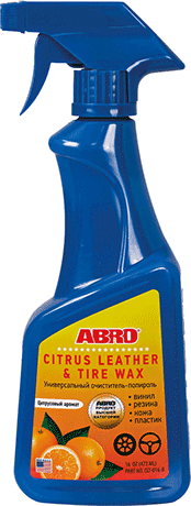 ABRO Scented Leather & Tire Wax CLT-016-R (MABRO089 )