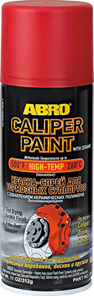 ABRO Red Caliper Paint with Ceramic CP-555 (MABRO098)