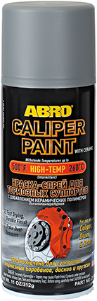 ABRO Silver Caliper Paint with Ceramic CP-555 (MABRO099)