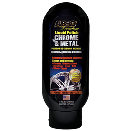 Safely Removes Oxidation and Tarnish , Non-Abrasive, Shines and Protects Chrome, Metal, Aluminum,   Stainless Steel, Silver and Gold