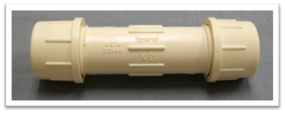 CPVC Compression Coupling (Hot)