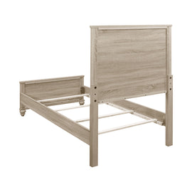 Wenham Twin Panel Bed Natural Oak - 205461T