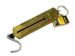 Pretul 50kg Roman Spring Scale, Pull Type, Hanging Scale, Spring Balance, S Hook, Kilogram and Pound Measurement. Ideal for General Weighing, Force Experiments, Action-Reaction Demonstrations and Much More - 21254