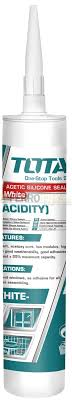 Total Acetic Silicone Sealant (Acidity), Low Modulus, High Intension, God Weatherability, Good Adhesive Strength. Ideal for Doors Windows, Glass, Tubs, Showers, Sinks, Bathrooms, Mouldings and More - THT3512 and THT351