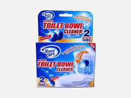 HOUSE CARE TOILET BOWL CLEANER WITH BLUE AND BLEACH - 2 PK- 91119