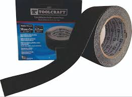 "TOOLCRAFT BLACK ADHESIVE ANTI-SLIP TAPE - 2"" X 16.4' - TC1077"