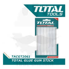 Total All Purpose Hot Melt Glue Gun Sticks, Diameter: 7/16 x Long: 7.87402 inches, Pack of 6, Compatible with Most Glue Guns. For school projects, handmade art craft, homes, offices, designers, party designers and more - TACGT2061
