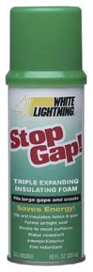 WHITE LIGHTNING STOP GAP TRIPLE EXPANDING INSULATING FOAM 12OZ - WL3333300