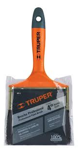 "TRUPER PROFESSIONAL PAINT BRUSH 4"" - 14486"