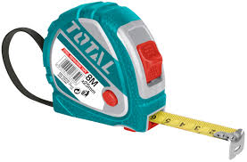 Total Steel Measuring Tape 8M X 25MM – TMT126081