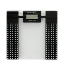 Westinghouse Electronic Bathroom Scale Black With dots-WHSWD1K2