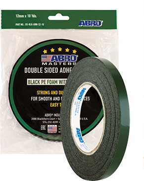ABRO Double Sided Adhesive Tape DS-BLK-GRN (MABRO103)
