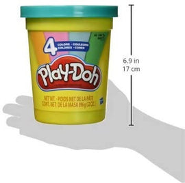 Play-Doh 2-Lb. Bulk Super Can with 4 Modern Colors - Light Blue, Green, Orange, & Pink - 630509772971