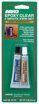 ABRO Epoxy Clear 4 Minute Kwik-EC-510 (MAC00060)