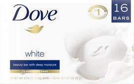 Dove White Soap Bar 16 ct/3.75 oz / 389834