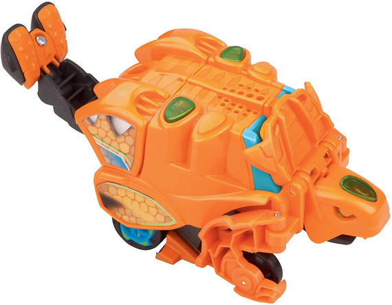 VTech Switch & Go Dinos Turbo Fray The Ankylosaurus easily transforms from a speedy racer to a well-armored herbivore in a few easy steps. - 80-148903