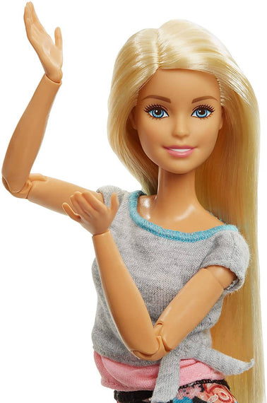 Barbie Made to Move Doll, Blonde - FTG81-JA10-19A