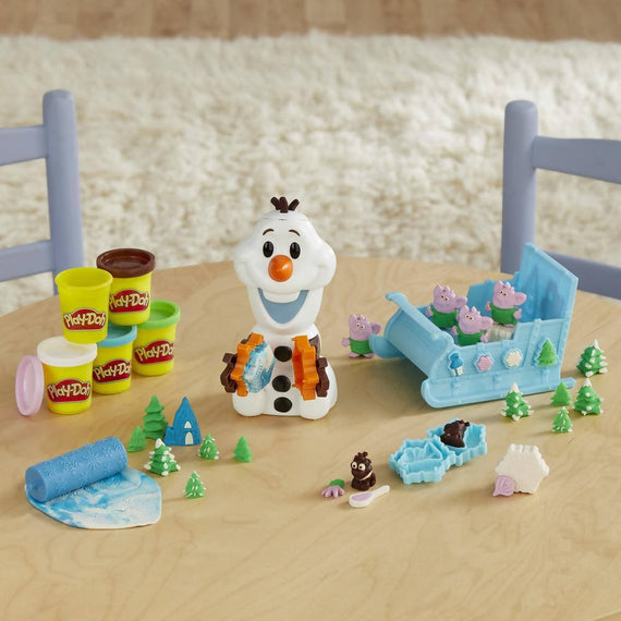Play Doh Featuring Frozen Olaf's Sleigh Ride Set - 630509835492